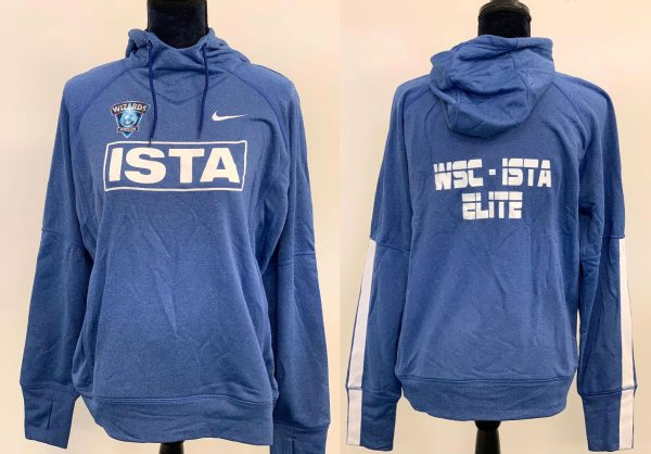 Blue Nike Hooded Sweatshirt
