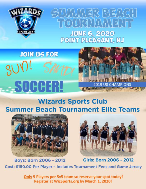2020 Summer Beach Tournament